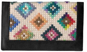 Scrap Bag Diamonds – Free Stash Buster Needlepoint Pattern