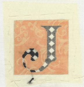 Using Fabric in Needlepoint