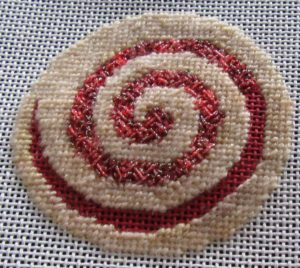 Needlepoint Cookie Chronicles, Pinwheel Cookie