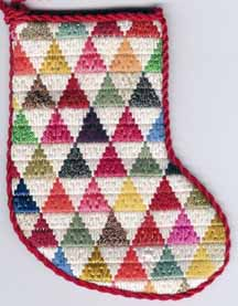 pyramids trianglepoint needlepoint stash buster scrap bag project by janet perry