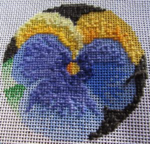 pixel shading in needlepoint